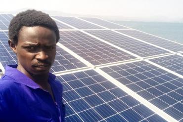 3kW Solar System replacing Diesel in Kakuma.